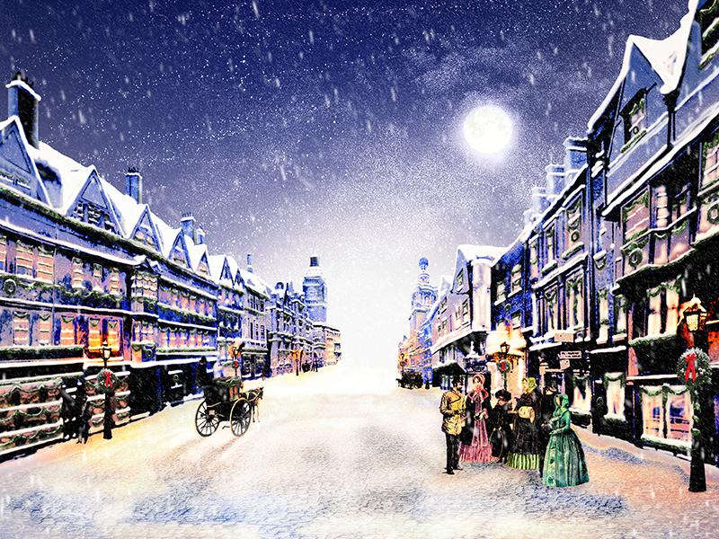 Painting of a Christmas Carol