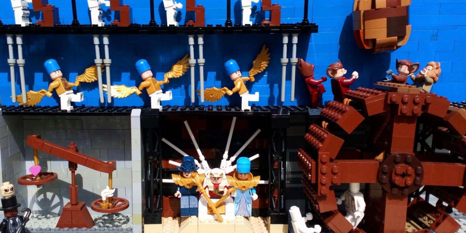 Akhenaten Lego Challenge