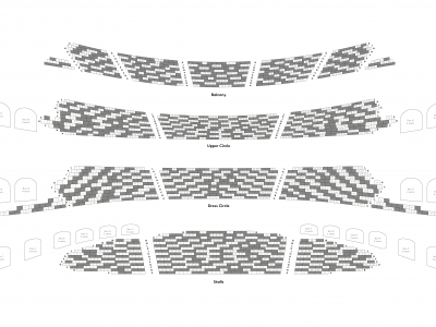 London Coliseum seating plan (December 2020)