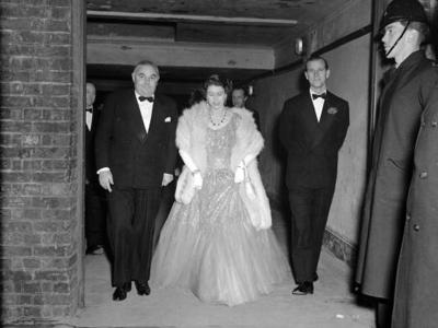 The Duke of Edinburgh, Prince Philip, at the London Coliseum